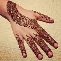 Asian henna Mehndi Images, Henna Designs, Mehendi, Hand Henna, Hand Tattoos, Honey, Henna Drawings, Arm Tattoos, Mehndi