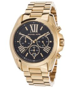 MICHAEL KORS BRADSHAW DAMEN 45MM CHRONOGRAPH MINERAL GLAS DATUM UHR MK5739 | Your #1 Source for Watches and Accessories