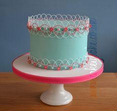 Oriental Stringwork Cake