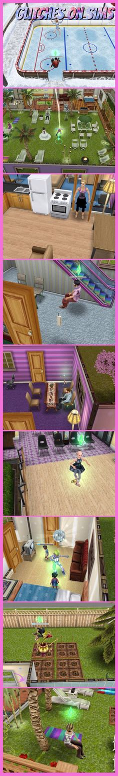Glitches on sims