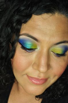 Urban Decay Electric Palette Makeup Inspiration