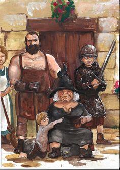 Вопрос 14. Любимая книга. Пратчетт. Pratchett. The Oggs by Alda-Rana.deviantart.com on @deviantART