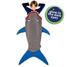 Glow in the Dark Shark Blanket - Blankie Tails Shark Tail Blanket, Mermaid Tail Blanket, Deep Blue Shark, New Shark, Shark Gifts, Wearable Blanket, Dark Eyes, Cozy Blankets, Sleeping Bag