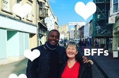 "Selasi From ""Bake Off"" Went On A Road Trip To Visit Val And It's Too Cute"