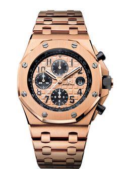 Audemars Piguet ROO Pink Gold on Bracelet 26470OR.OO.1000OR.01