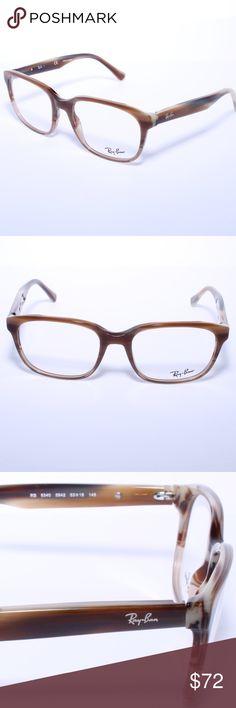 7bc82e4e046d0 Ray Ban RB 5340 5542 Brown Horn Stripe 53mm Frames Ray Ban RB 5340 5542  Brown