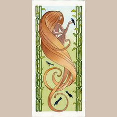 Song.  Art print of original watercolor. In the by jonathanday