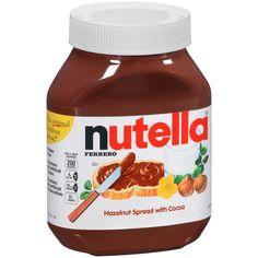 Ferrero Nutella Hazelnut Spread With Cocoa oz Large Jar Nutella Spread, Chocolate Spread, Chocolate Hazelnut, Ferrero Nutella, Nutella Cookies, Ferrero Chocolate, Cocoa, How To Roast Hazelnuts, Hazelnut Spread
