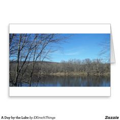 A Day by the Lake Greeting Card