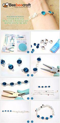 Rivoli Glas Schmucksteine Sapphire Kristall 14mm 2 Stück zum Schmuck Basteln
