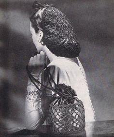 43 Besten Vintage Hairsnoods Bilder Auf Pinterest Snood Classy