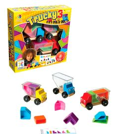 Trucky 3 | SmartGames - Puzzelspellen voor één speler