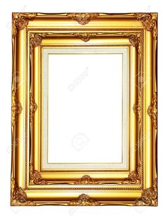 11802633-Vintage-gold-wood-photo-frame-on-white-background-Stock-Photo-border.jpg (982×1300)