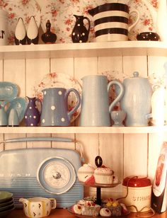 Welsh Dresser beautifully filled!