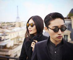 Shanghai Tang sunglasses campaign