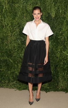 Actress Allison Williams attends CFDA and Vogue 2013 Fashion Fund Finalists Celebration at Spring Studios on November 11, 2013 in New York C...