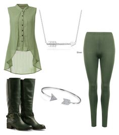 """lady legolas"" by liniki on Polyvore featuring WearAll, Bling Jewelry and Finesque"