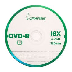 50 Pack Smartbuy Blank DVD-R 16X 4.7GB 120M Logo Top Recordable Disc #UnbrandedGeneric
