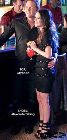 TV Fashion * Show: Hart of Dixie * Actress: Rachel Bilson * Character: Zoe Hart * Top: Gryphon * Shows: Alexander Wang