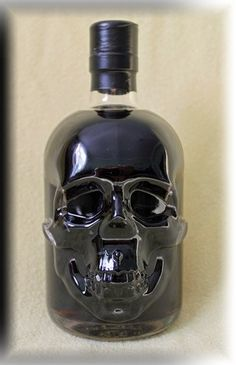 Blackhead Absinthe. I think it looks a lot cooler in a skull bottle than Vodka does....