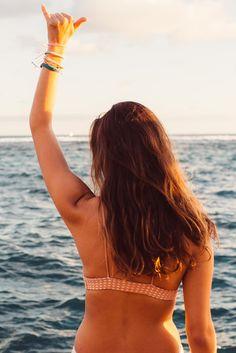 Hang Loose PV Fans | Pura Vida Bracelets Pura Vida Bracelets, Best Sellers, Bikinis, Swimwear, Surfing, Fans, In This Moment, Beach, Summer