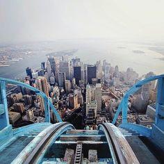 rollercoaster feeling in NY