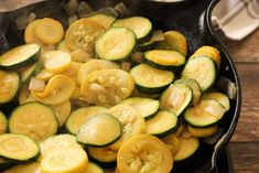 Jump to Recipe Print Recipe This simple Sauteed Zucchini and Yellow Squash Recipe is a perfect side dish year round. Loaded with zucchini, yellow squash, onions, garlic and topped with parmesan cheese! Zucchini and yellow squash recipes are so easy to make, they don't take long to cook and can be so full of flavor! …