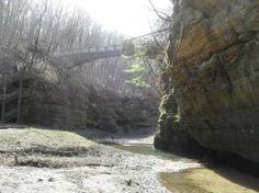 Canyon and Bridge by HaleyGottardo