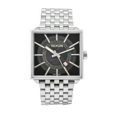 Nixon Men's A008-000 Zillamatic Stainless Steel Automatic Exhibition Dial Watch * You can find more details by visiting the image link.