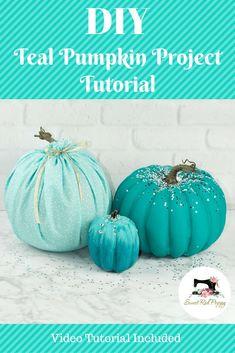 DIY Teal Pumpkin Pro