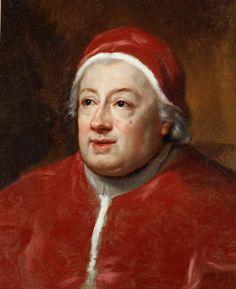 The Athenaeum - Portrait of Pope Clement XIII (Anton Raphael Mengs - )