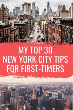 30 NYC Tips for First Timers To New York If you're planning your first trip to New York, you're probably a bit overwhelmed. I've compiled my top 30 New York tips to make your first NYC trip both epic and stress-free. New York City Vacation, New York City Travel, Solo Travel, Travel Usa, New York Tips, Empire State Building, Central Park, Cool Places To Visit, Places To Go