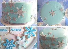 Frozen torta detalles