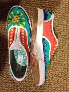 Handpainted Bible Verse shoes (Keds, TOMs, etc.)