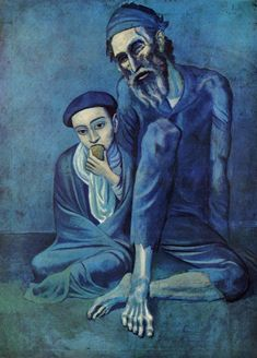 Picasso  Old Beggar and Boy