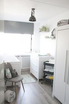 Onze mintgroene babykamer / kinderkamer // Our nursery room