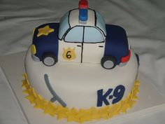 Inspiration pic - About how my cake looked (just the car) but I used frosting instead of fondant.