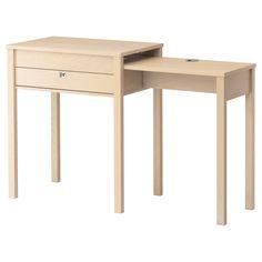 Kitchen office-in-a-corner option: GUSTAV Laptop table - birch veneer - IKEA