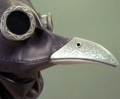 ichabod steampunk gas mask  Actually, I think this is a plague mask?