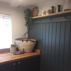 So pleased as this was a strange little room with no character at all and now I think it's got a real identity. #holidaycottage #farrowandball #cowparsleycottage