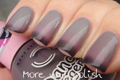 Dance Legend TermoTrio No 3. Another thermal color changer - light gray, pink, plum. Gorg!