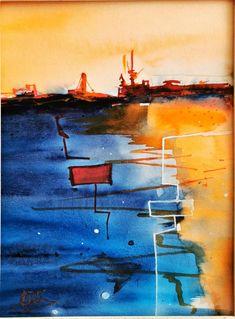 Aquarelle Abstract, Artwork, Watercolor Painting, Paint, Summary, Work Of Art, Auguste Rodin Artwork, Artworks, Illustrators