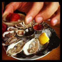 Oysters in Portland, ME ~sms 06/13~