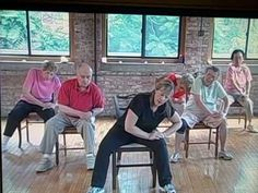 Exercise for Seniors - Stronger Seniors 'Stretch and Strength' - Lower Back  Stretching