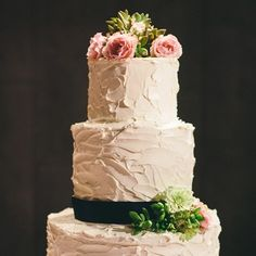 Rustic Tiered Cake