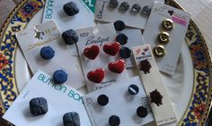 Vintage Button Collection Large Variety  Very by CherylsGoodStuff, $3.50