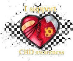I support congenital heart defect awareness