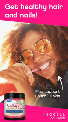 Neocell's Super Collagen powder has a variety of health benefits! Simply mix into your favorite smoothie, breakfast bowl or hot beverage to make your skin feel and look more vibrant. Tap the Pin to learn more. Natural Hair Care, Natural Hair Styles, Health Benefits, Health Tips, Collagen Powder, Beauty Secrets, Beauty Hacks, Hair Health, Skin Treatments