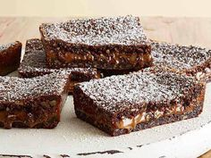 Pioneer Woman's Top-Rated Knock-You-Naked Brownies ~ need a new name, but they definitely sound luscious