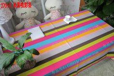 15 13一米台布 餐桌布 帆布条纹田园桌布 时尚窗帘布艺桌布特价-淘宝网